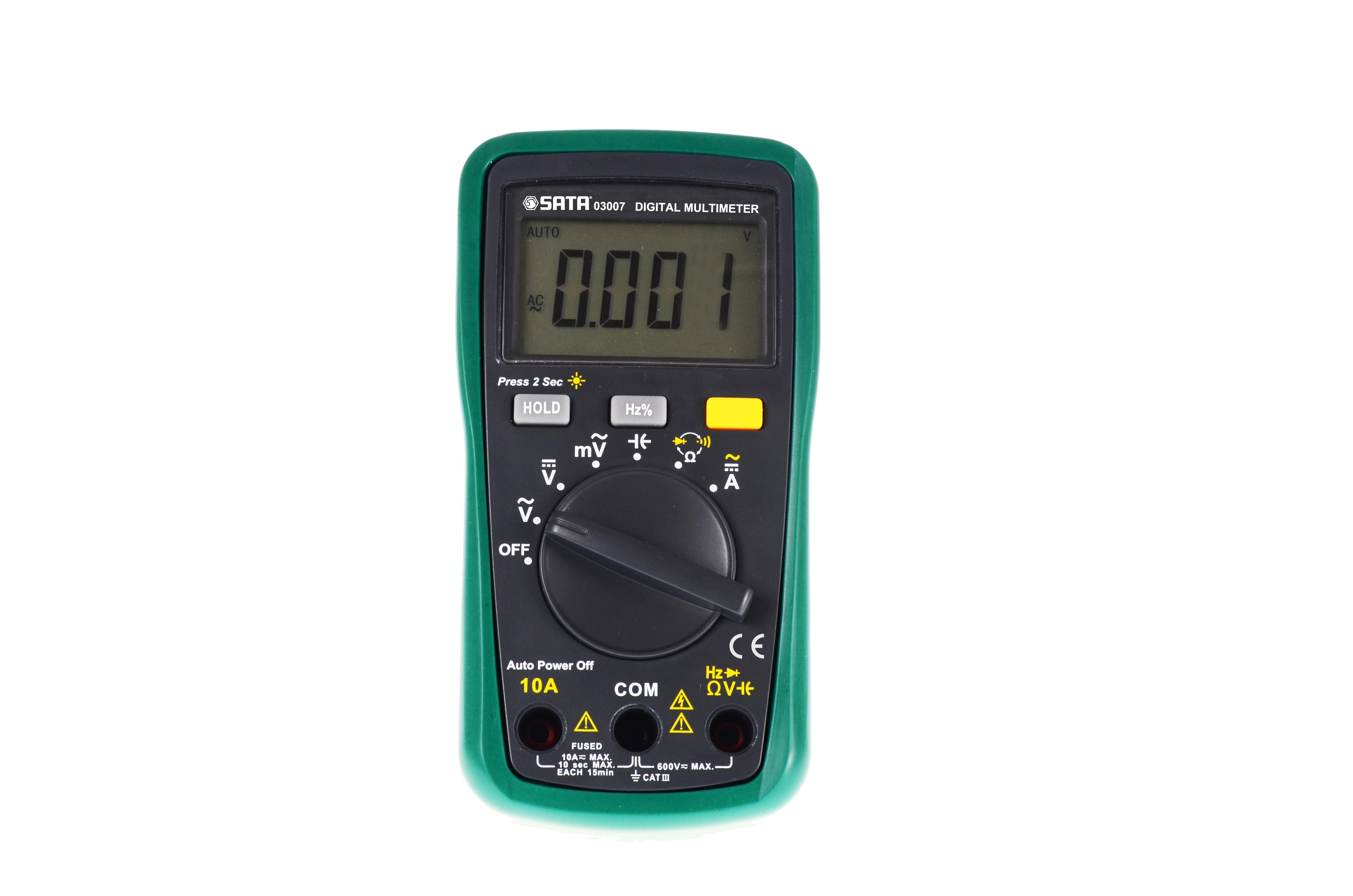 带频率测量掌上型万用表