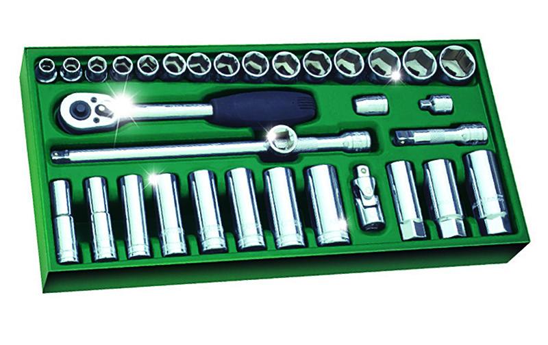 工具托组套-33件10MM系列套筒