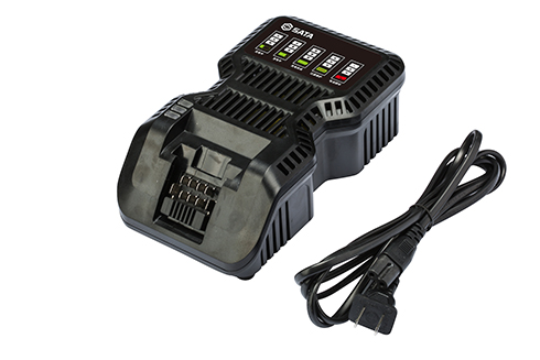 J系列10.8-18V横插式锂电电池包充电器