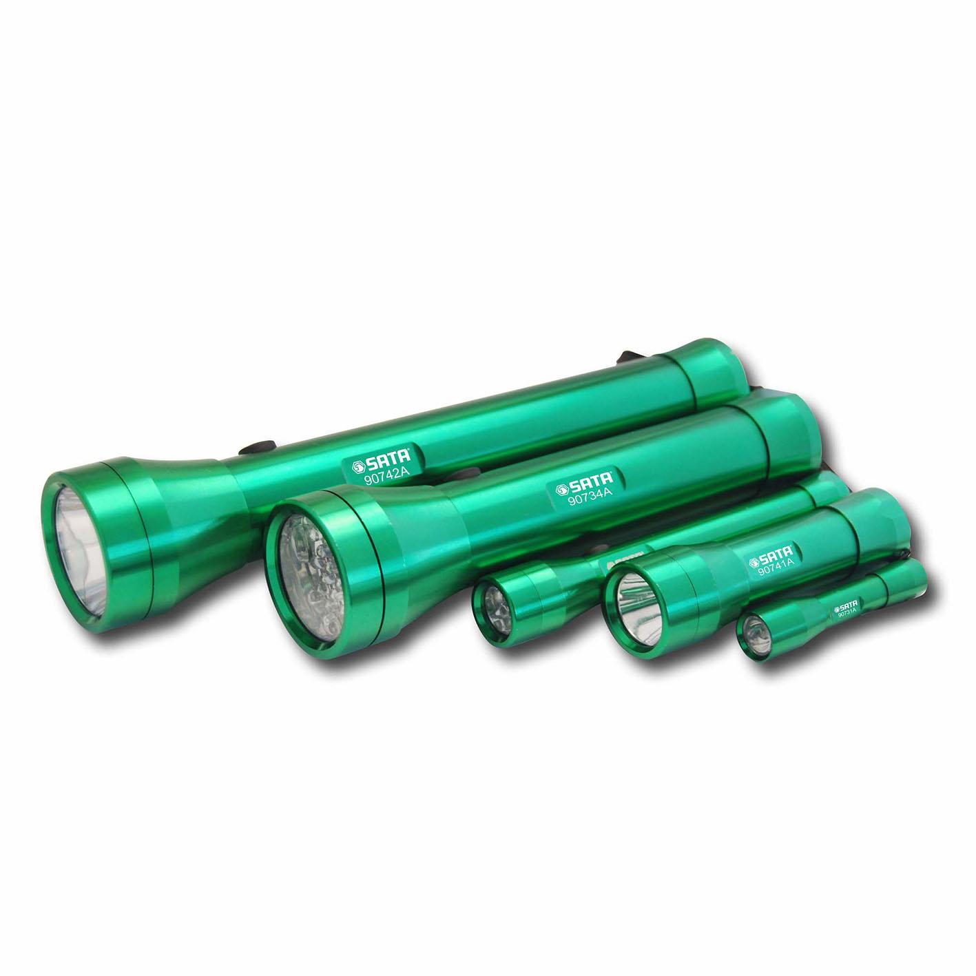 铝合金手电筒2节1号电池