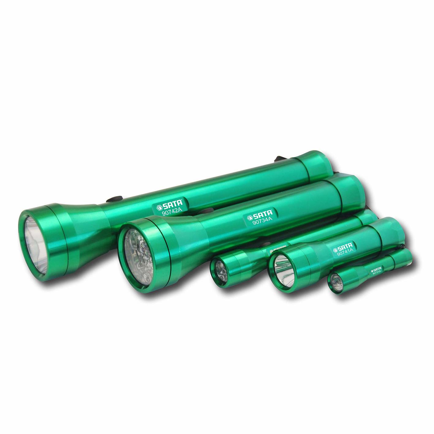 铝合金手电筒3节7号电池