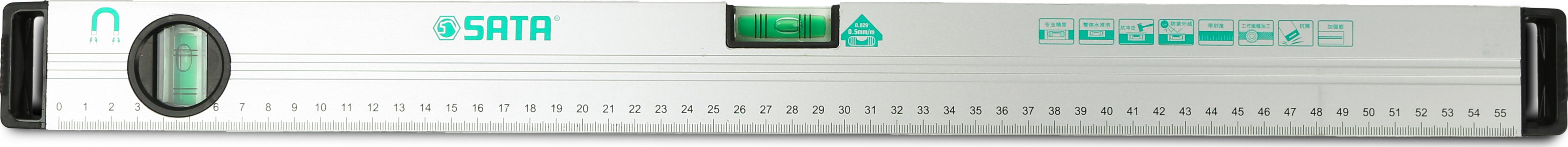 带磁水平尺600MM/24