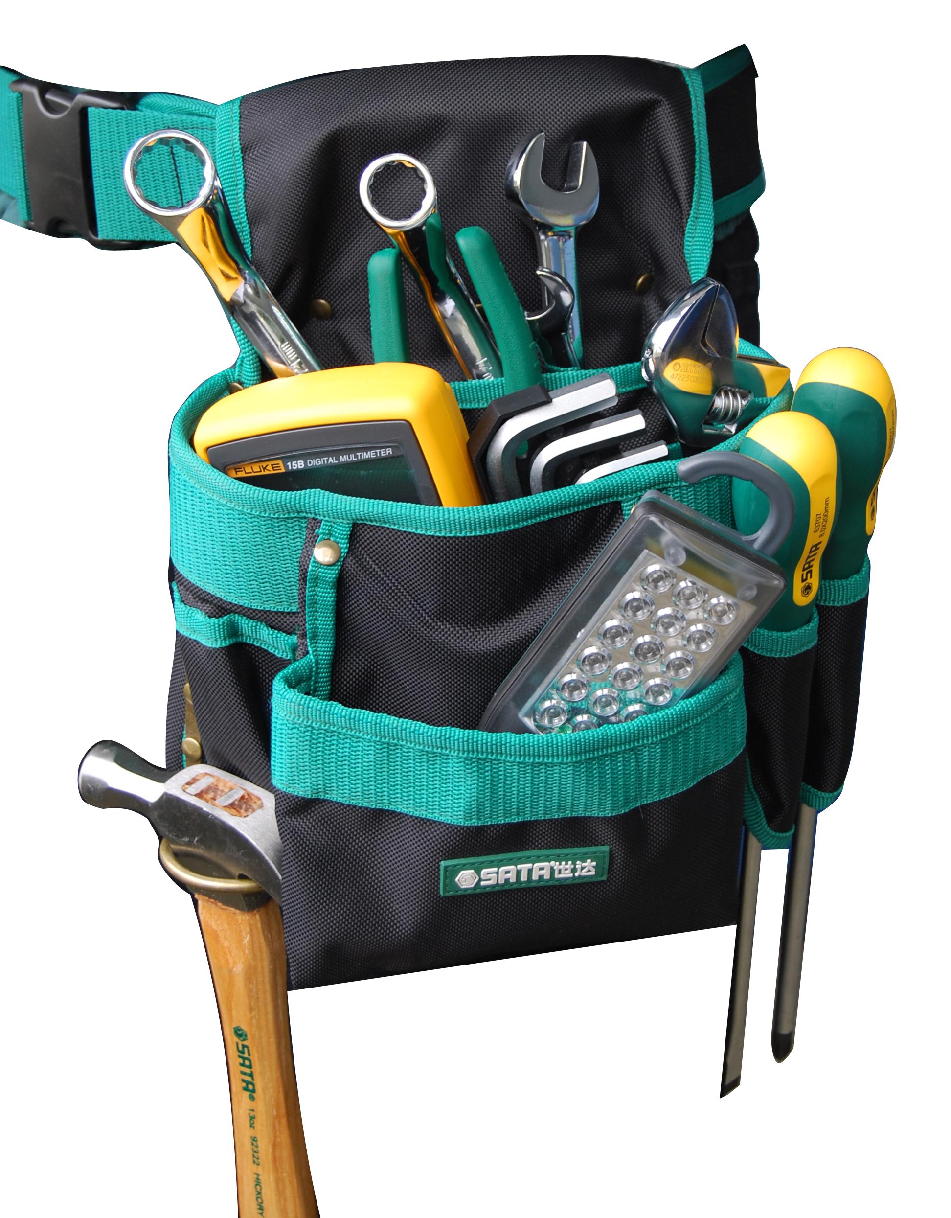6袋式组合工具腰包