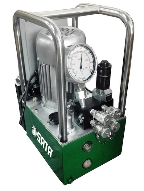 两口液压扳手专用电动泵(无刷电机)