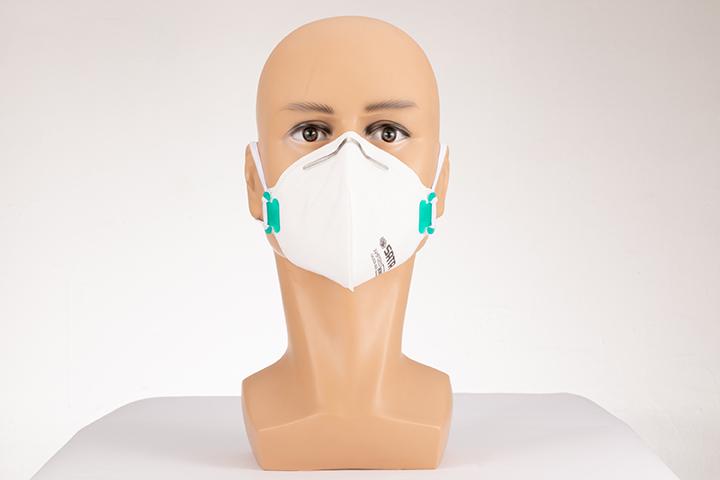 蚌型折叠式防尘口罩(耳挂式)