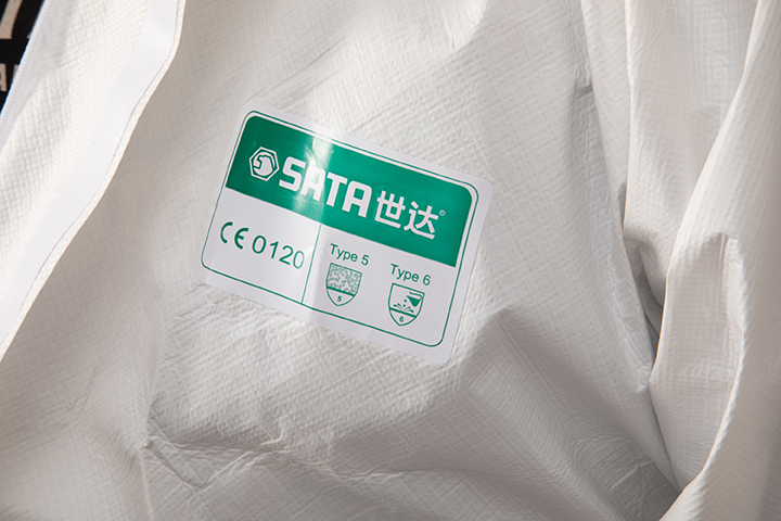 透气膜防尘防静电防化服(XL)