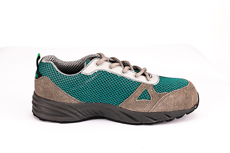 世达经典绿防砸运动安全鞋-42