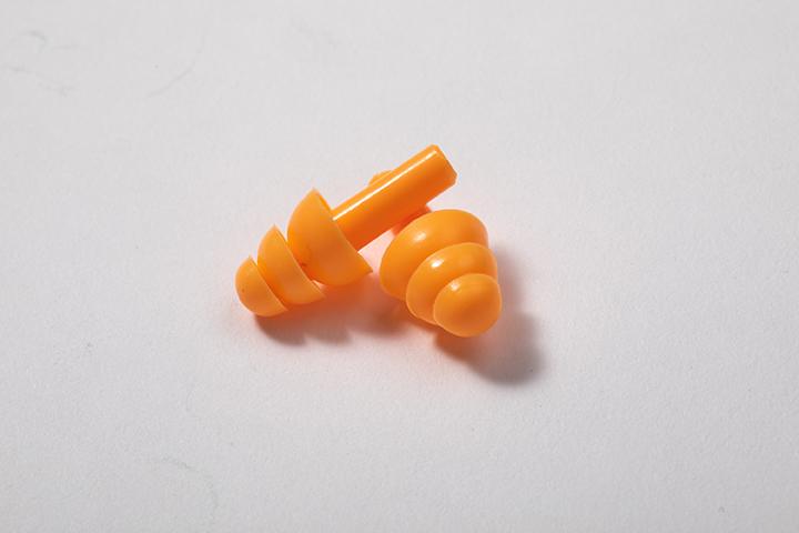 圣诞树型硅胶耳塞(不带线)
