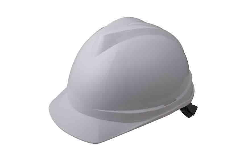 V顶标准型安全帽-白色