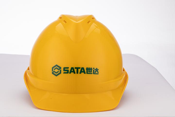 V顶标准型安全帽-黄色
