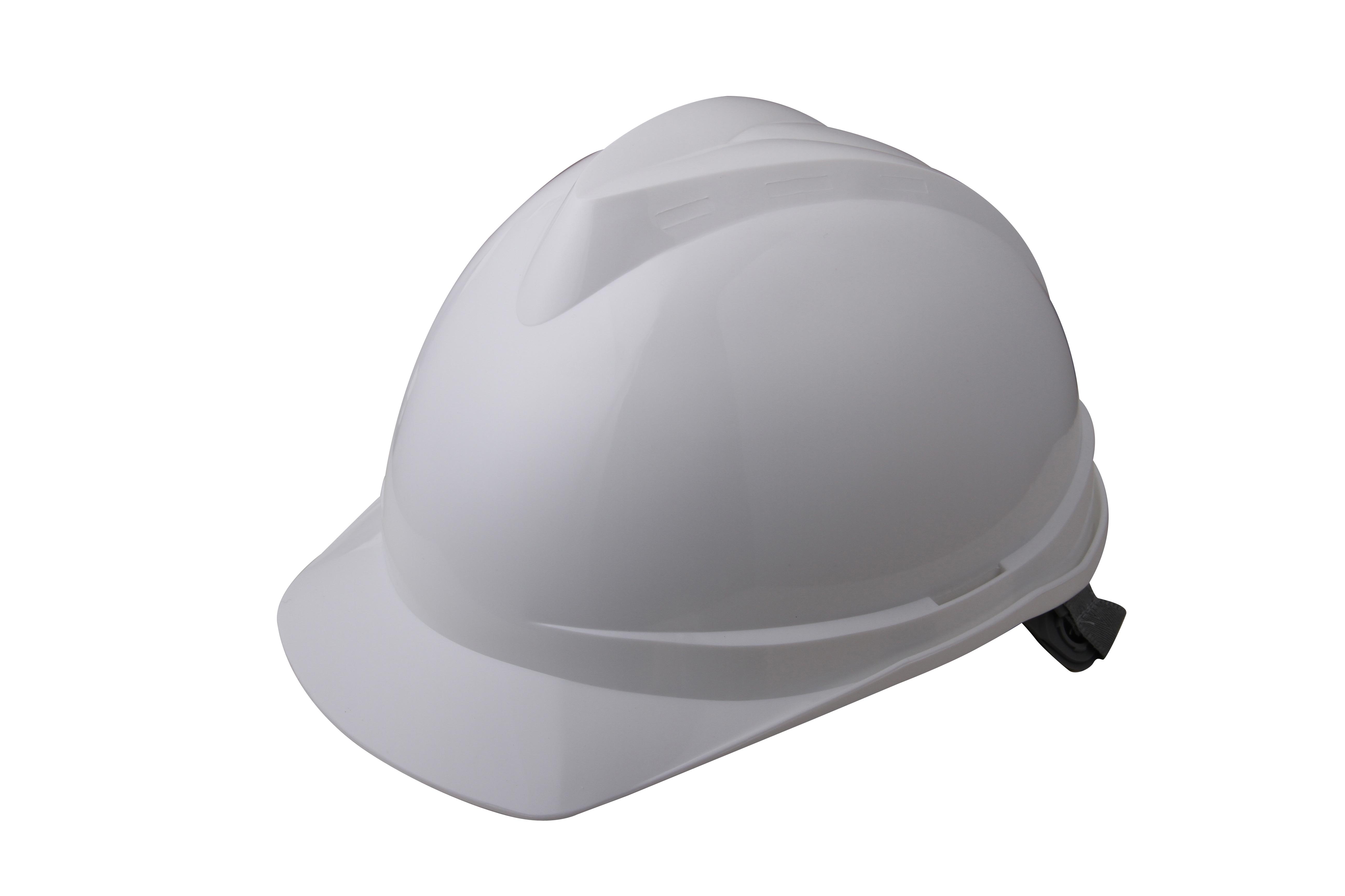 V顶ABS标准安全帽-白色